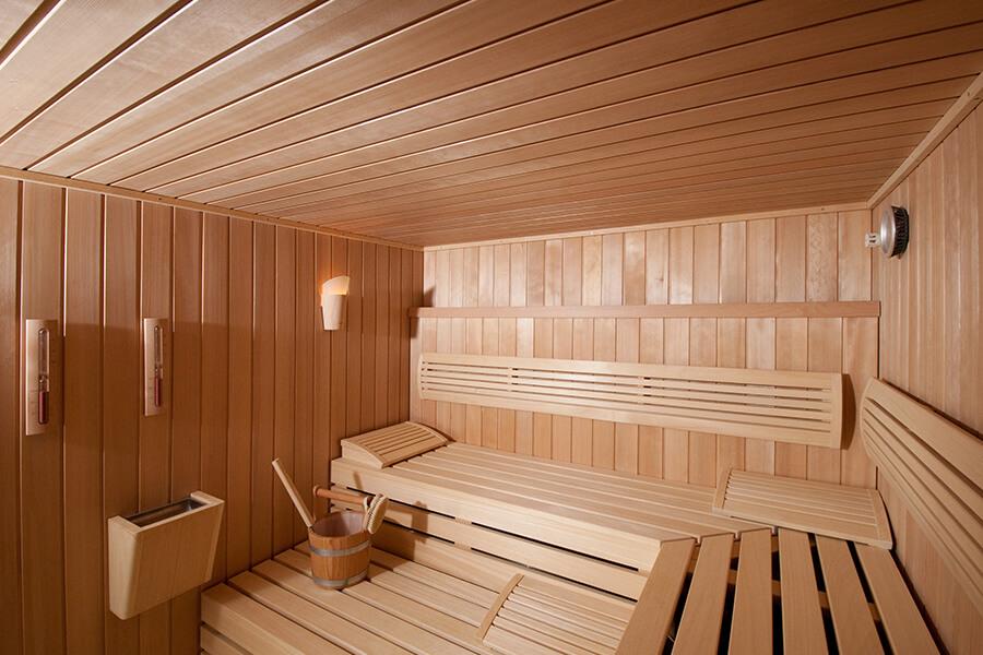 Photo de sauna
